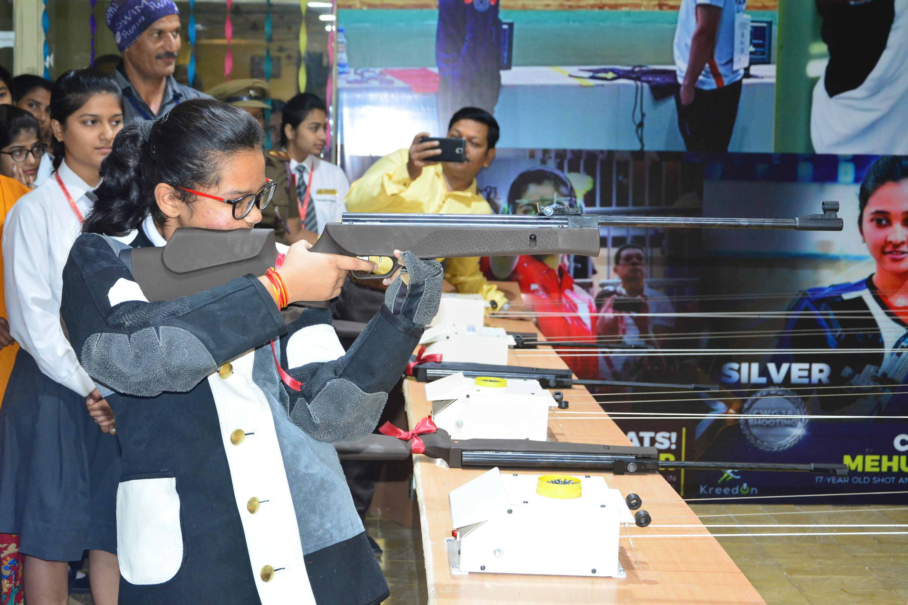 Shooting Range for Girls