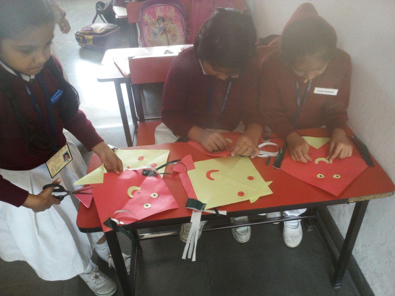 Activity on Makar Sankranti