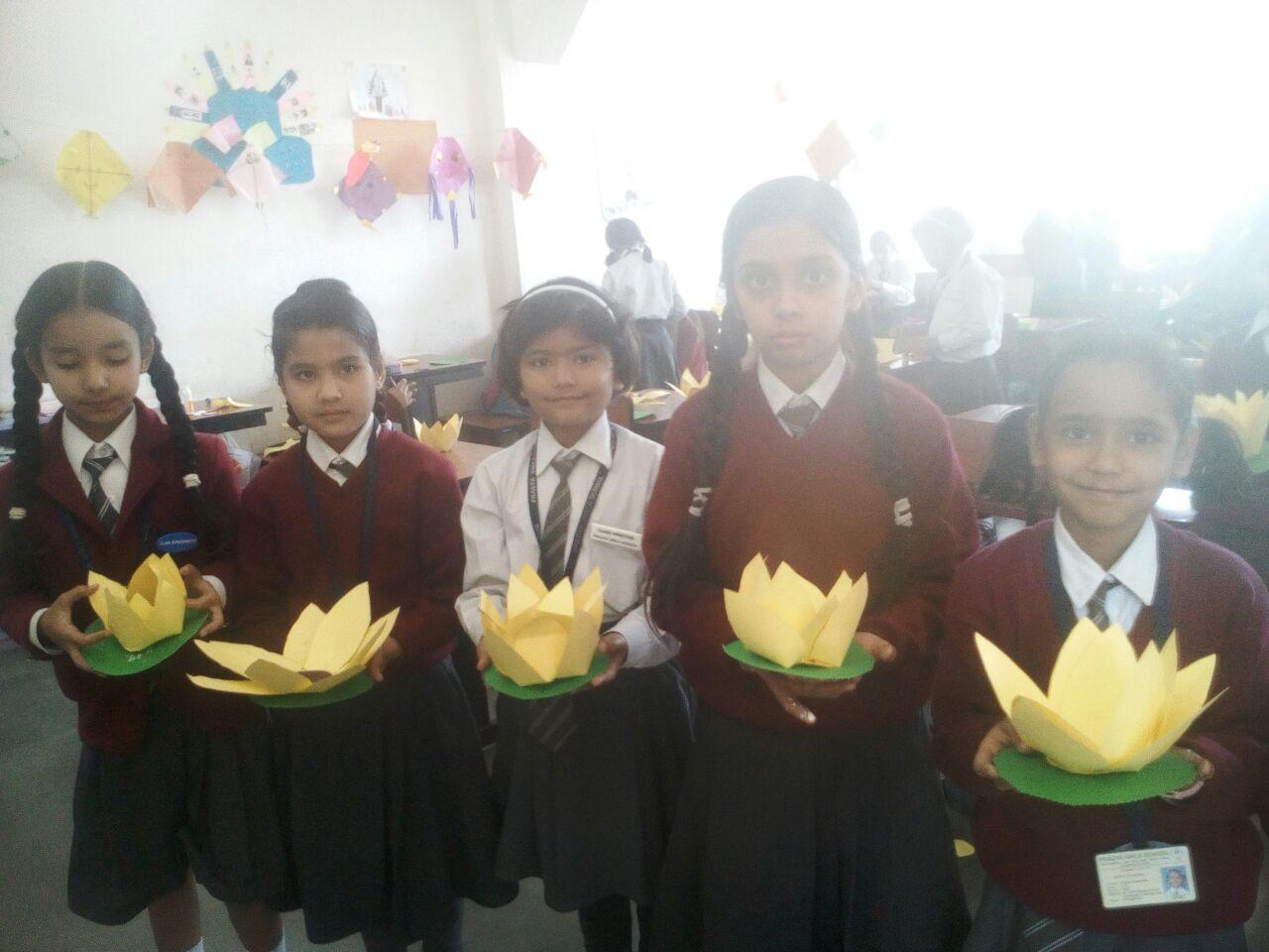 Activity on Basant Panchami
