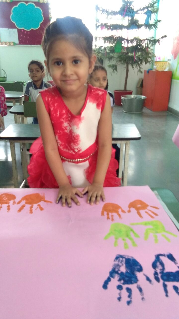 Learning Hand and Foot Printing