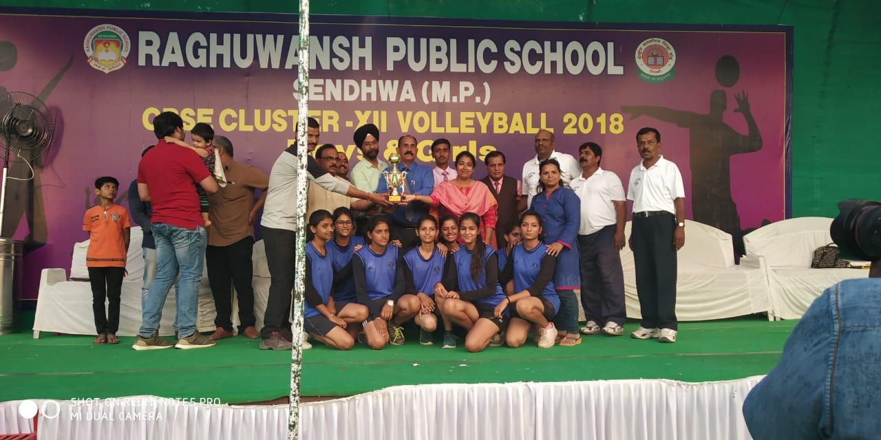 Interschool Volleyball Champion 2018