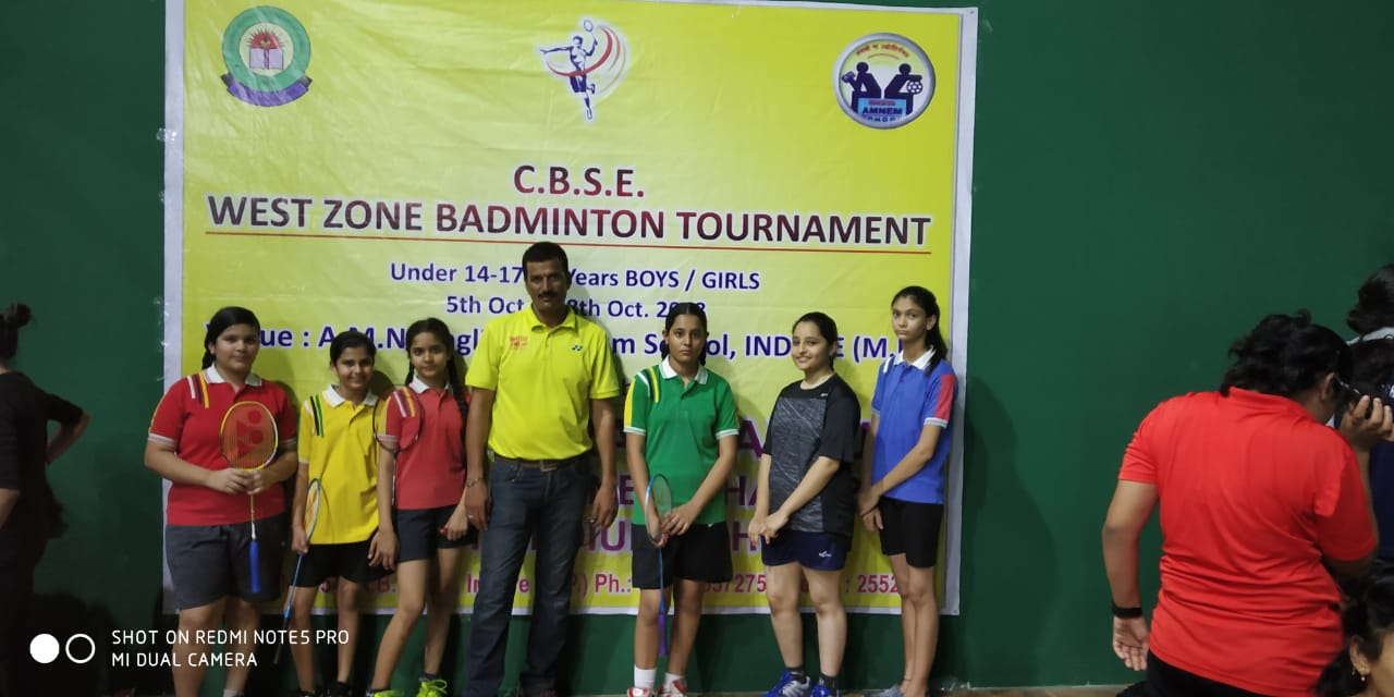 West Zone  Badminton Champion 2018
